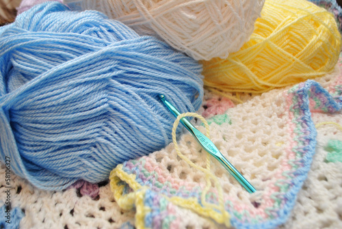Crocheting a Baby Blanket