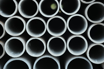 Industrial tubes background