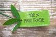 Fair Trade 100 %