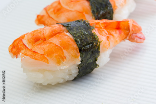 Shrimp sushi nigiri © z10e