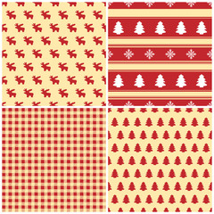 Christmas - Seamless Pattern - Set (I)