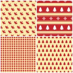 Christmas - Seamless Pattern - Set (I)