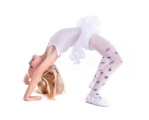 Sweet little ballerina