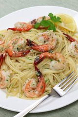 pasta with shrimp scampi