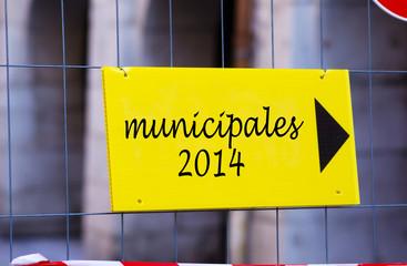 campagne municipales 2014