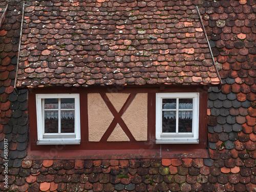Historisches Fachwerkhausdach