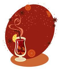 Mulled Wine menu template