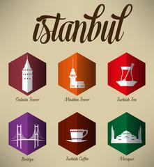 Istanbul Symbols Design Set