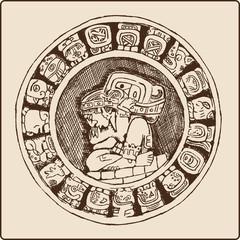 Maya Smybole Kalender