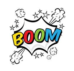 boom pop art