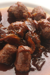 Salsicce agrodolci Sausage sweet and sour