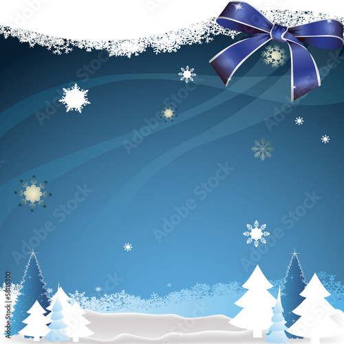 Christmas and New year greeting card on the background