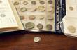 raccolta di monete