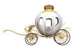 Fairy Tale Royal Carriage Wall Sticker