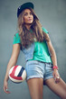 Girl sports style