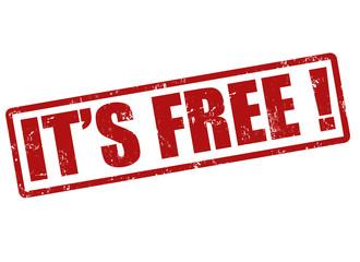 It's free stamp
