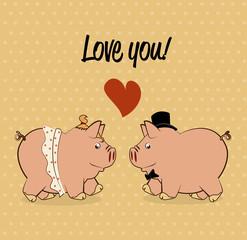 pig love design