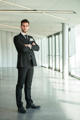 Business man figure