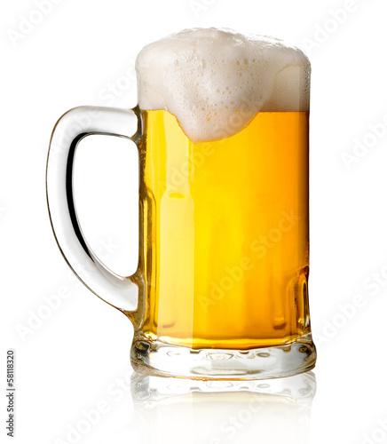 Mug with beer - 58118320