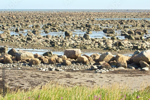Hudson Bay Low Tide Stone Desert