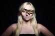 Death's-head Hawkmoth eye patch girl