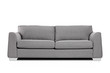 Studio shot of a grey modern sofa - 58122119