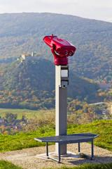 binocular near Hainburg town