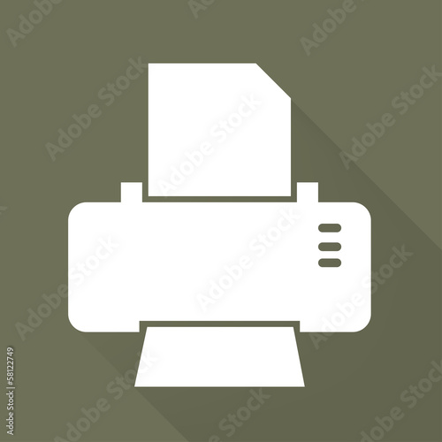 Printer web icon