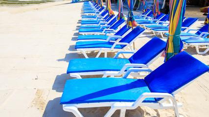 Chair sunbathing at phi phi island
