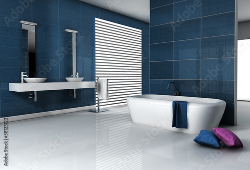 canvas print picture Contemporary Bathroom