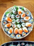 yummy sushi arrangement