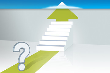 Stairs of success - Questions and Ambitions