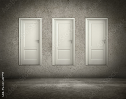 doors  on walls