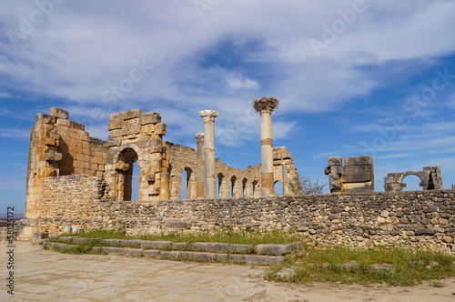Roman Volubilis in Morocco