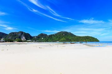 kho phi phi island at krabi thailand