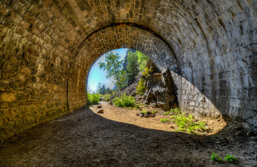 The Circum-Baikal Railway Abandoned Tunnel