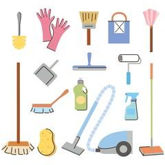 掃除道具、掃除用品