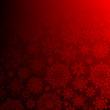 Seamless deep red christmas. EPS 10