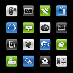 Communication Icons -- Gelbox Series
