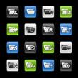 Folder icons 2 -- Gelbox Series