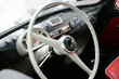 Постер, плакат: Fiat 600 multipla interiors vintage steering wheel