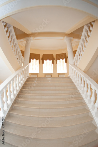 Foto op Plexiglas Trappen staircase to the hall