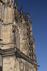 Prague castle details
