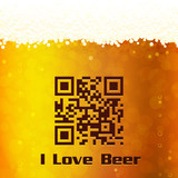 I Love Beer background
