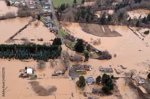 Washington State Flood - 58132716