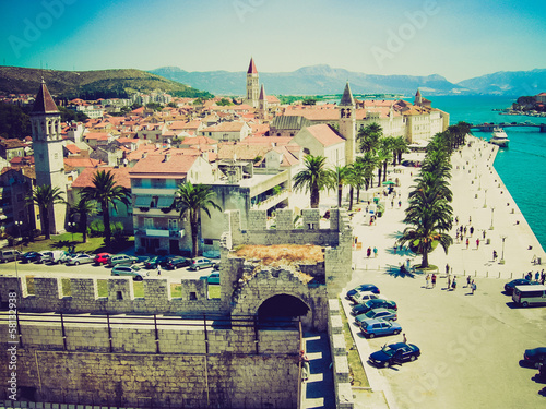 Trogir retro looking