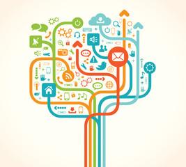 Social Network Tree