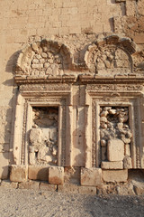 The Wall Of Mor Yakup Monastery, Nusaybin, Mardin.
