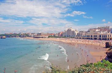 La Grande plage, Biarritz - France