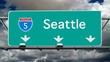 Seattle - Interstate 5 Sign Time Lapse
